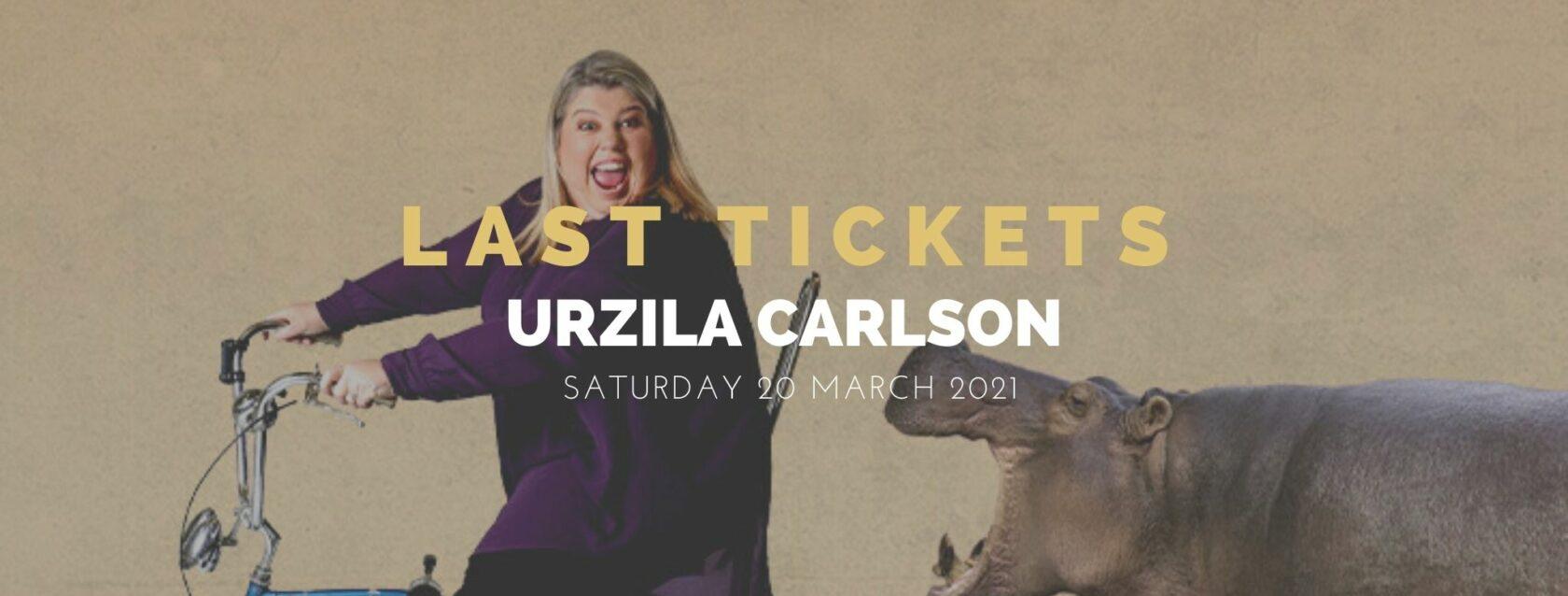Last Tickets - Urzila Carlson