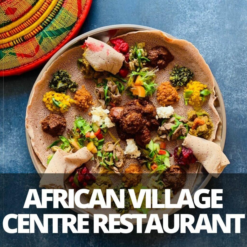african village centre